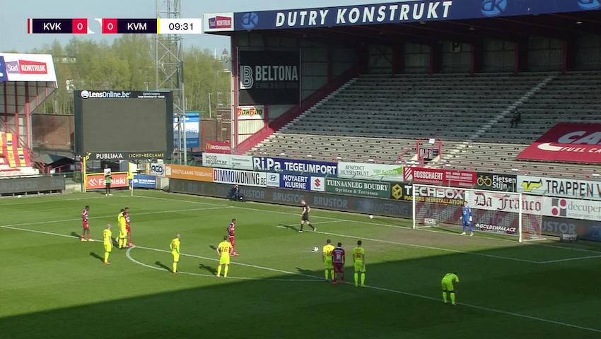 Faiz Selemani Penalty vs. KV Mechelen