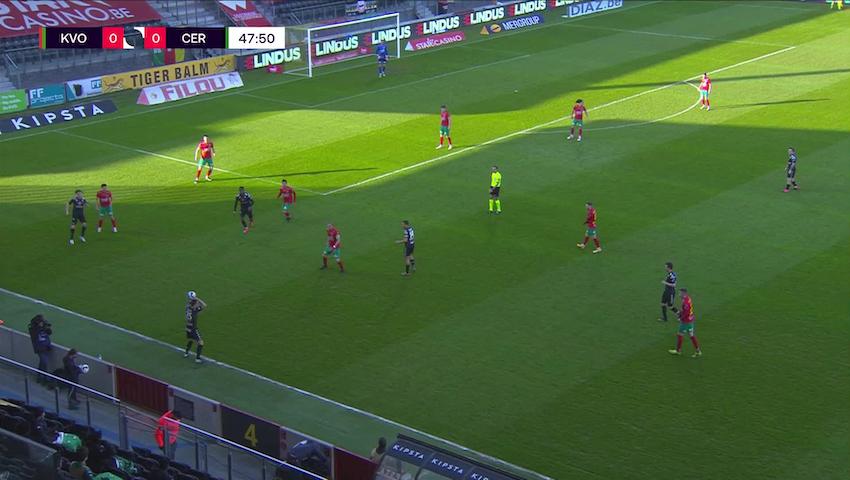 But Ike Ugbo (KV Oostende vs. Cercle Brugge)