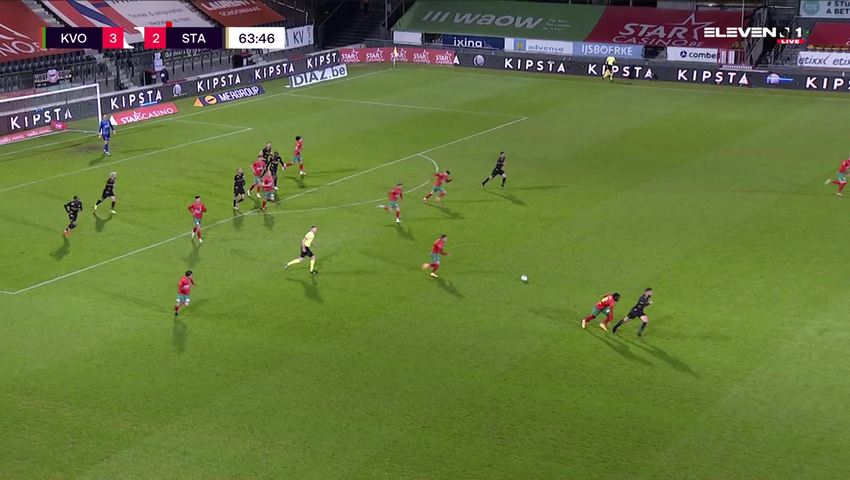 But Andrew Hjulsager (KV Oostende vs. Standard de Liège)