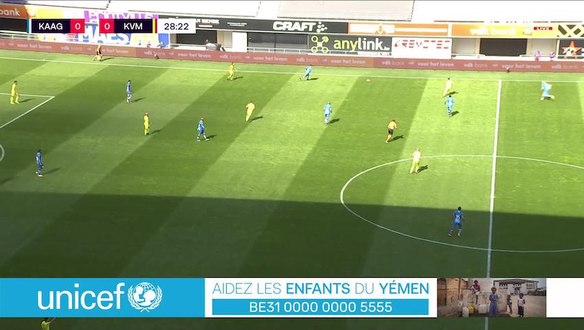 But Nikola Storm (KAA Gent vs. KV Mechelen)