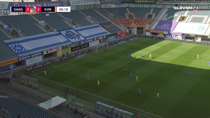 But Roman Yaremchuk (KAA Gent vs. KV Mechelen)