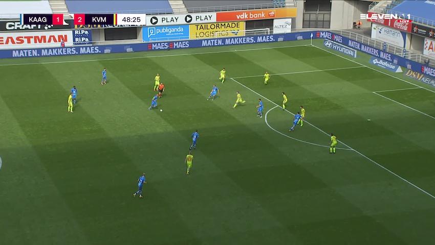 Doelpunt Vadis Odjidja-Ofoe (KAA Gent vs. KV Mechelen)