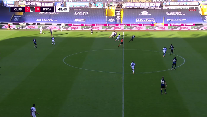 But Noa Lang (Club Brugge vs. RSC Anderlecht)