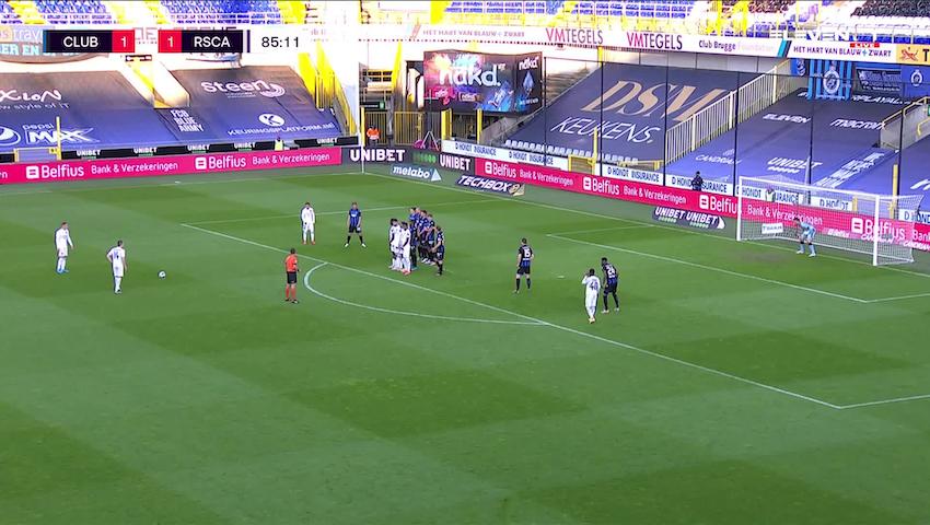 But Jacob Bruun Larsen (Club Brugge vs. RSC Anderlecht)