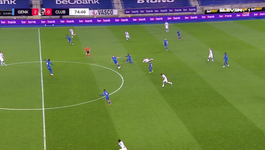 Doelpunt Kristian Thorstvedt (KRC Genk vs. Club Brugge)