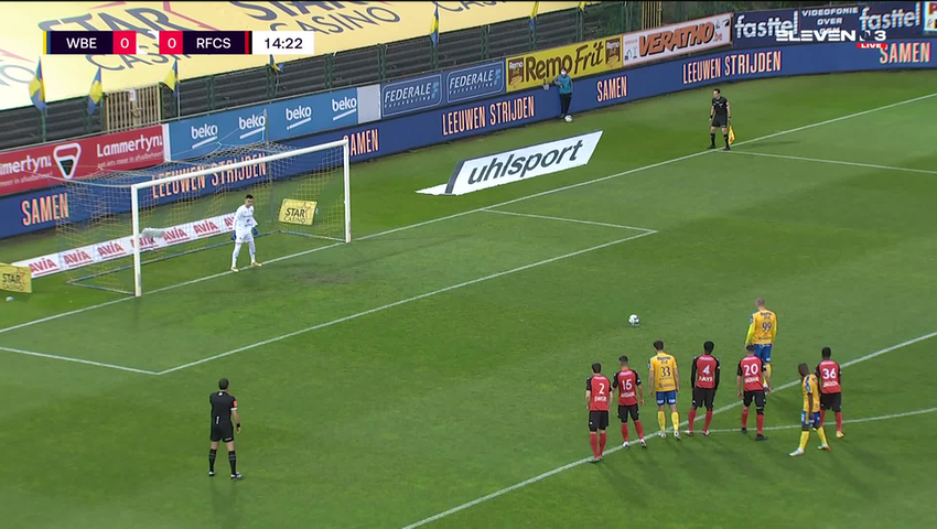 Michael Frey Penalty vs. RFC Seraing