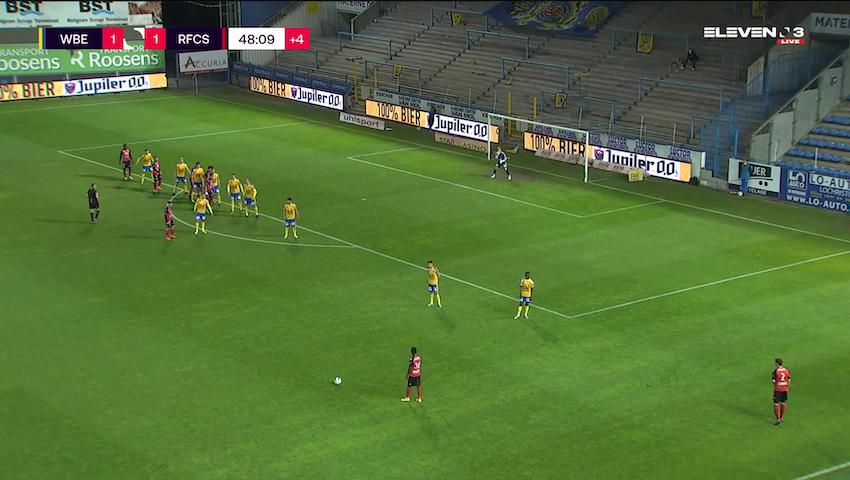 But Brahim Sabaouni (Waasland-Beveren vs. RFC Seraing)