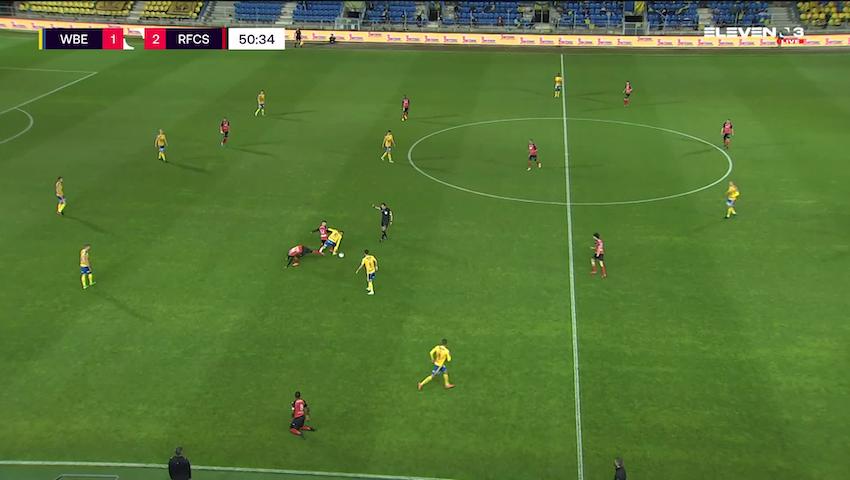 But Danel Sinani (Waasland-Beveren vs. RFC Seraing)