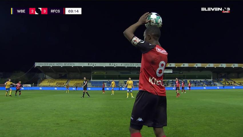 Doelpunt Georges Mikautadze (Waasland-Beveren vs. RFC Seraing)