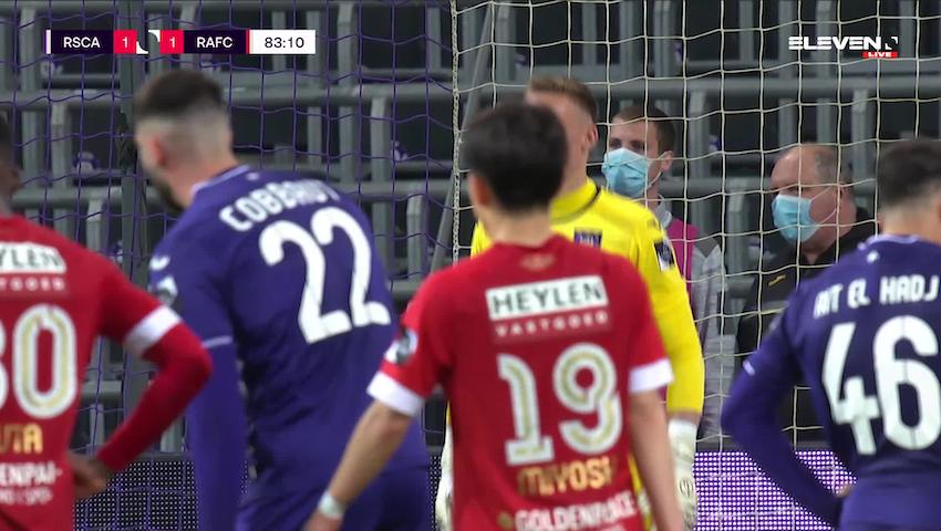 Dieudonne Mbokani Bezua Penalty vs. RSC Anderlecht