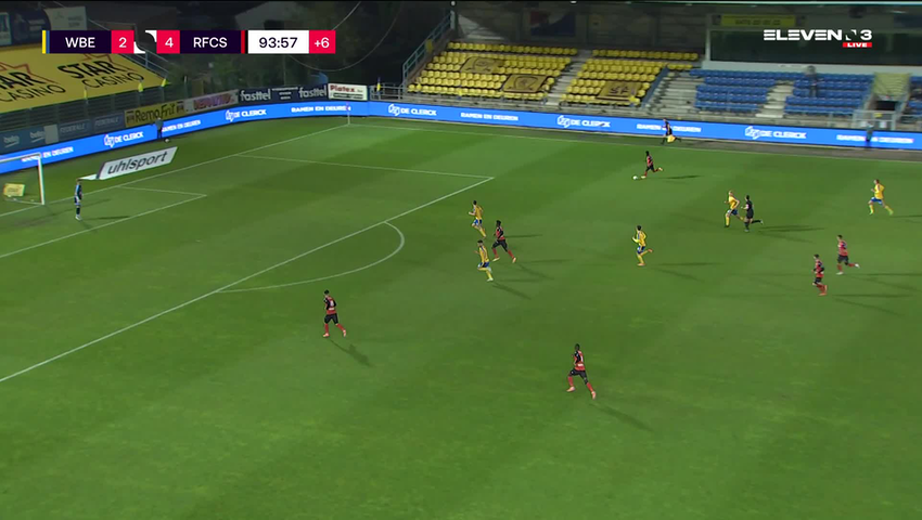 But Antoine Bernier (Waasland-Beveren vs. RFC Seraing)