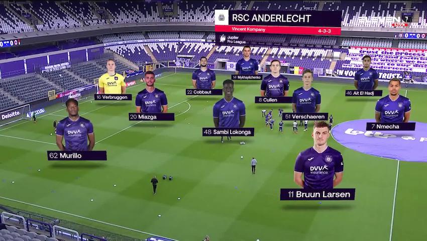 Samenvatting RSC Anderlecht vs. Royal Antwerp FC