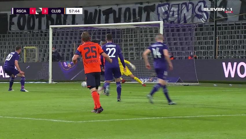 But Noa Lang (RSC Anderlecht vs. Club Brugge)