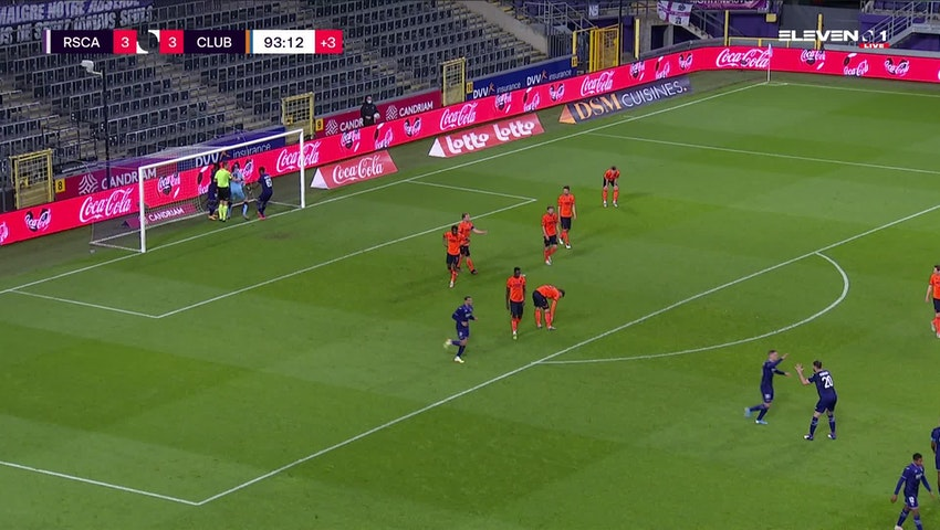 But Jacob Bruun Larsen (RSC Anderlecht vs. Club Brugge)