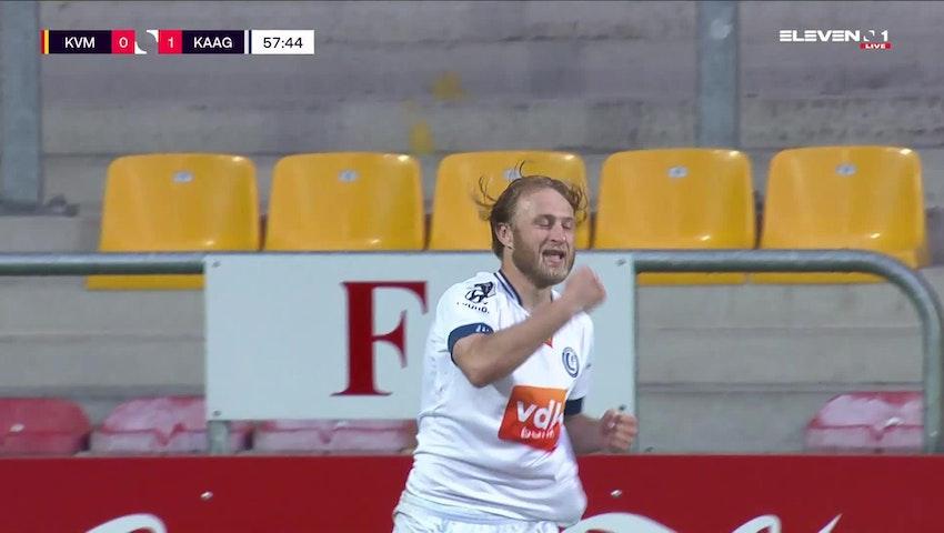 But Roman Bezus (KV Mechelen vs. KAA Gent)