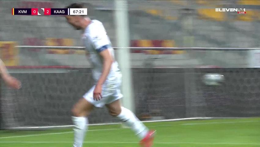 But Tarik Tissoudali (KV Mechelen vs. KAA Gent)