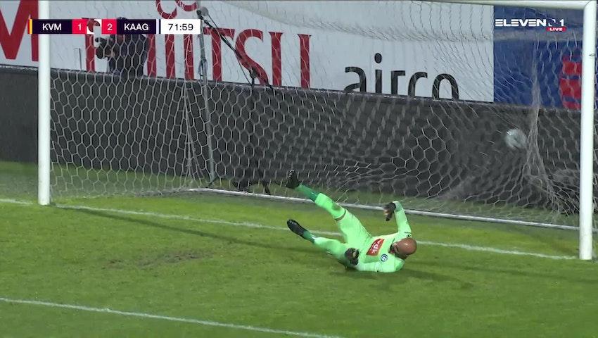 Ferdy Druijf Penalty vs. KAA Gent