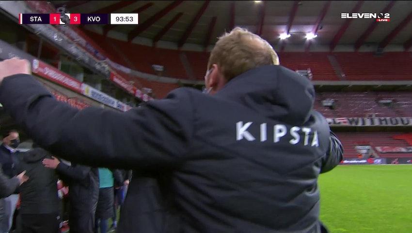 Résumé Standard de Liège vs. KV Oostende
