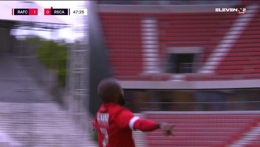 Doelpunt Didier Lamkel Ze (Royal Antwerp FC vs. RSC Anderlecht)