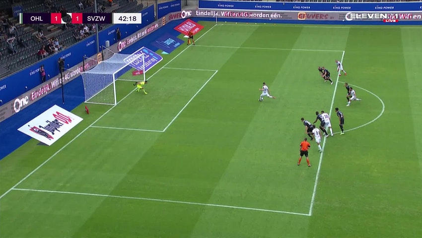 Thomas Michel David Henry Penalty vs. SV Zulte Waregem
