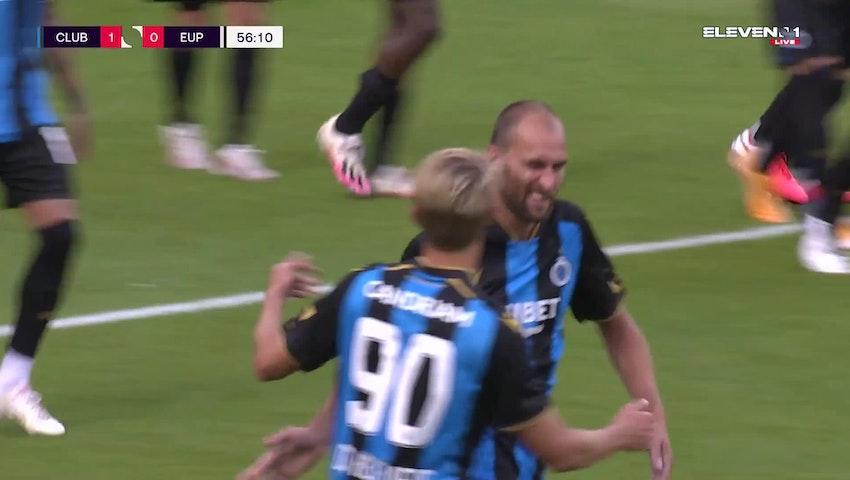 Bas Dost Penalty vs. KAS Eupen