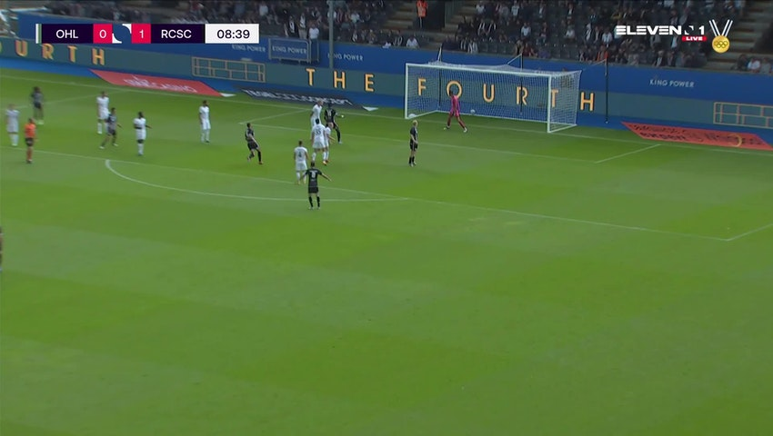Doelpunt Adem Zorgane (OH Leuven vs. Sporting Charleroi)