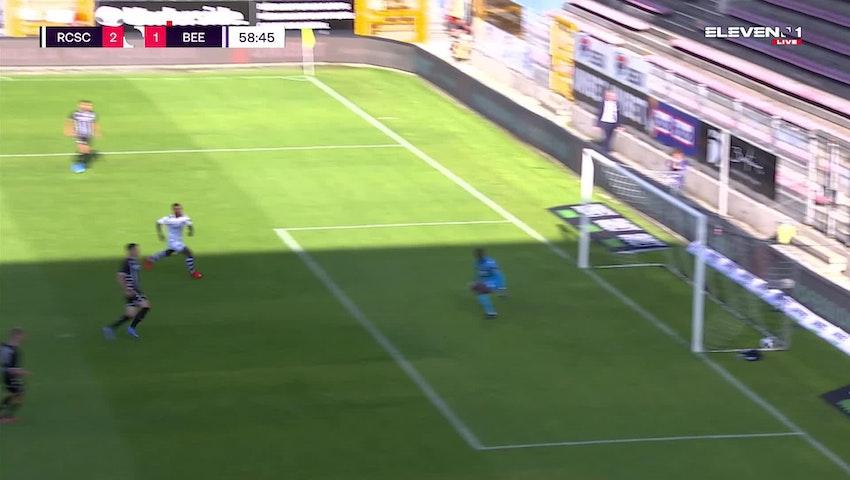 Doelpunt Raphael Holzhauser (Sporting Charleroi vs. K. Beerschot V.A.)