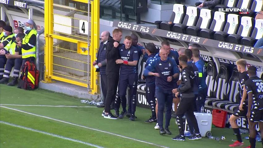 Résumé Sporting Charleroi vs. K. Beerschot V.A.
