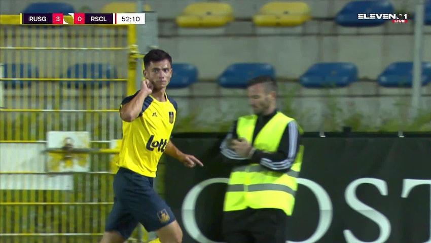 Doelpunt Dante Vanzeir (Union Saint-Gilloise vs. Standard de Liège)