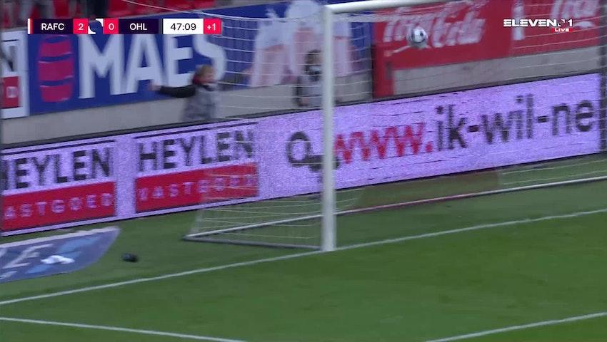 Michael Frey Penalty vs. OH Leuven