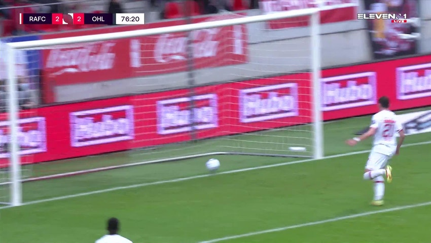 Doelpunt Levan Shengelia (Royal Antwerp FC vs. OH Leuven)