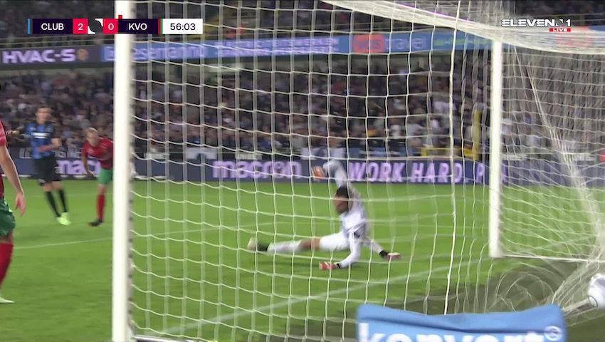 But Hans Vanaken (Club Brugge vs. KV Oostende)