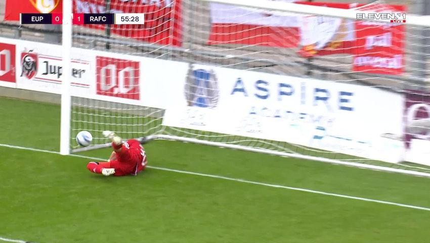But Michael Frey (KAS Eupen vs. Royal Antwerp FC)