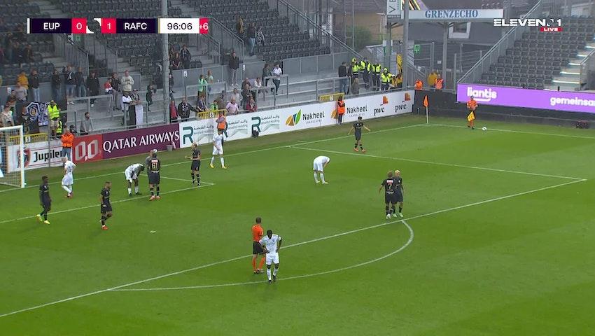 Résumé KAS Eupen vs. Royal Antwerp FC