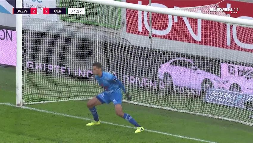 Alejandro Millán Penalty vs. SV Zulte Waregem