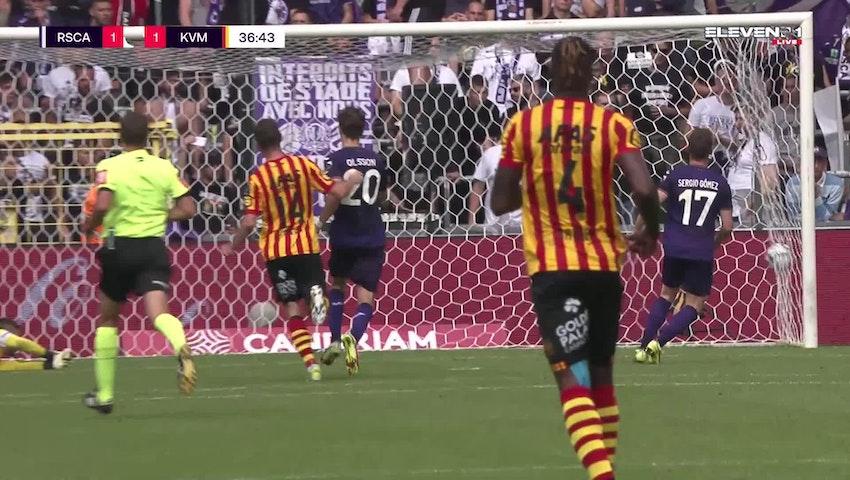But Nikola Storm (RSC Anderlecht vs. KV Mechelen)