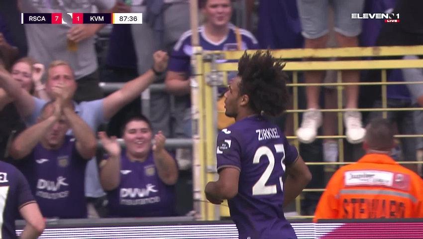 But Joshua Zirkzee (RSC Anderlecht vs. KV Mechelen)