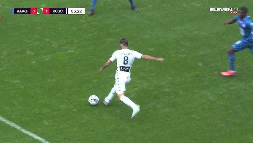 But Ali Gholizadeh (KAA Gent vs. Sporting Charleroi)