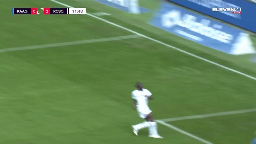 But Mamadou Fall (KAA Gent vs. Sporting Charleroi)