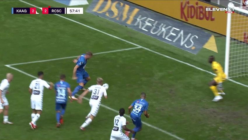 Doelpunt Laurent Depoitre (KAA Gent vs. Sporting Charleroi)