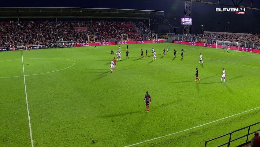 Résumé RFC Seraing vs. Standard de Liège