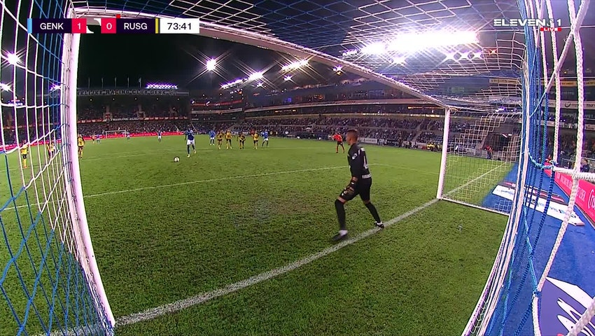 Ebere Paul Onuachu Penalty vs. Union Saint-Gilloise