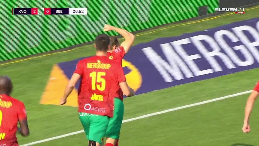 But Brecht Capon (KV Oostende vs. K. Beerschot V.A.)