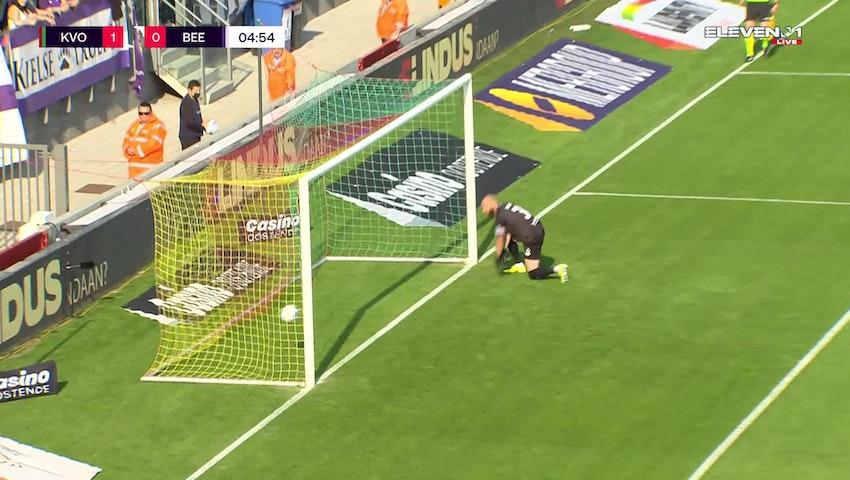 Makhtar Gueye Penalty vs. K. Beerschot V.A.