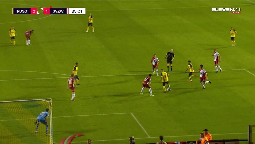 But Matthew Sorinola (Union Saint-Gilloise vs. SV Zulte Waregem)