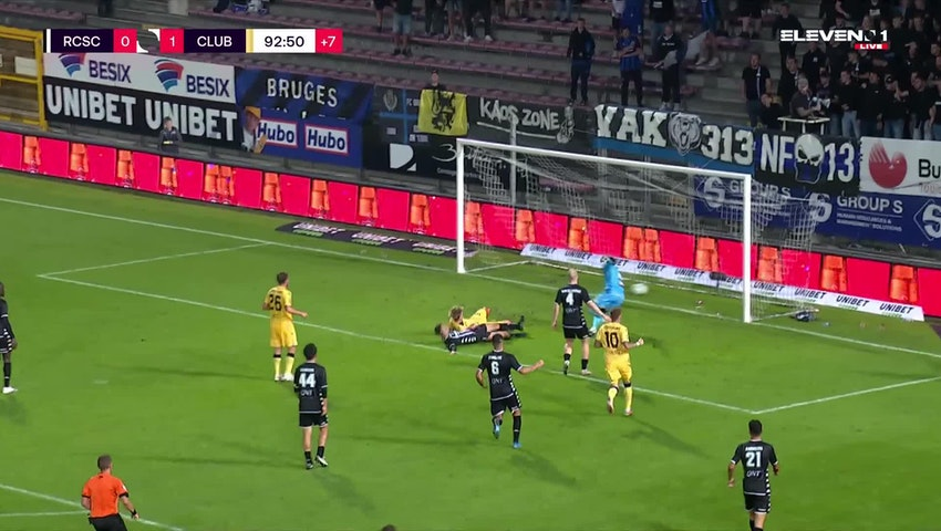 Doelpunt Charles De Ketelaere (Sporting Charleroi vs. Club Brugge)