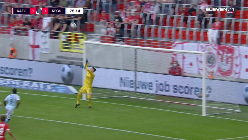 But Michael Frey (Royal Antwerp FC vs. RFC Seraing)