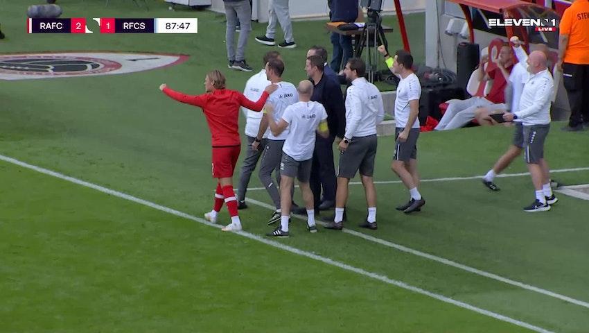 Doelpunt Pieter Gerkens (Royal Antwerp FC vs. RFC Seraing)