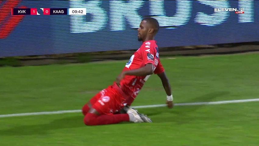 Faiz Selemani Penalty vs. KAA Gent
