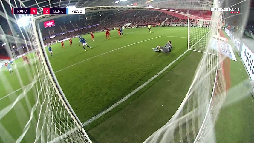 Paul Onuachu Penalty vs. Royal Antwerp FC